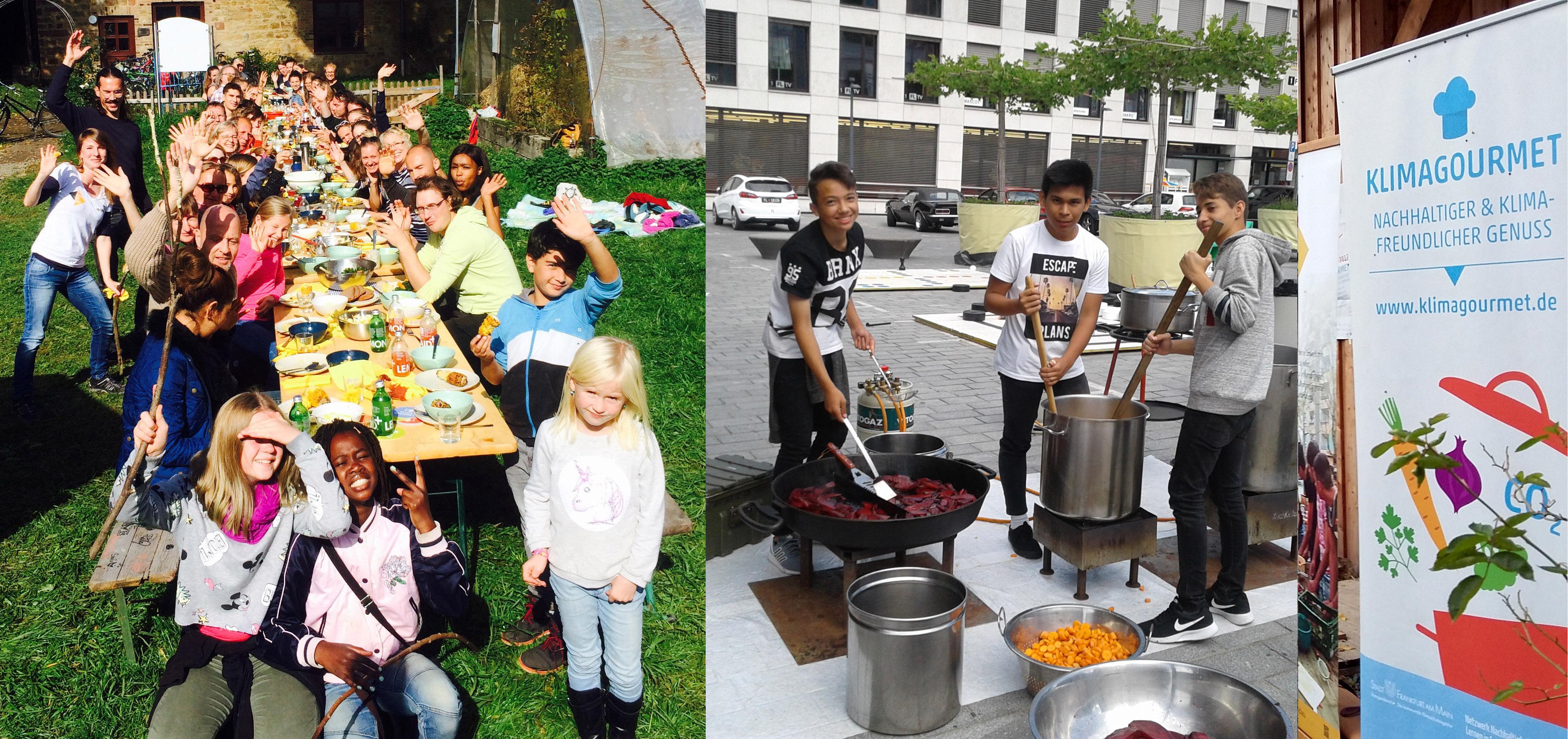 Mobile Outdoor-Gemeinschaftsküche für Mingas u.v.m. – gemeinsame Freiwilligenarbeit im Quartier mit nachhaltig Kochen und Essen verbinden