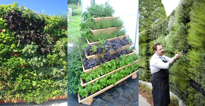 Experimentier-Workshops für grosse mobile / modulare Pflanzgefässe – Vertical Gardening Pyramiden und Wände