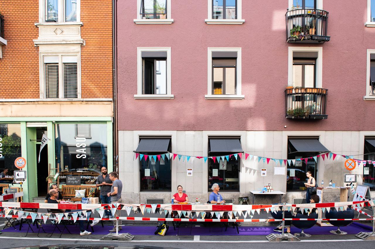 PARK(ing) Day - für mehr Lebensfreude in der Stadt