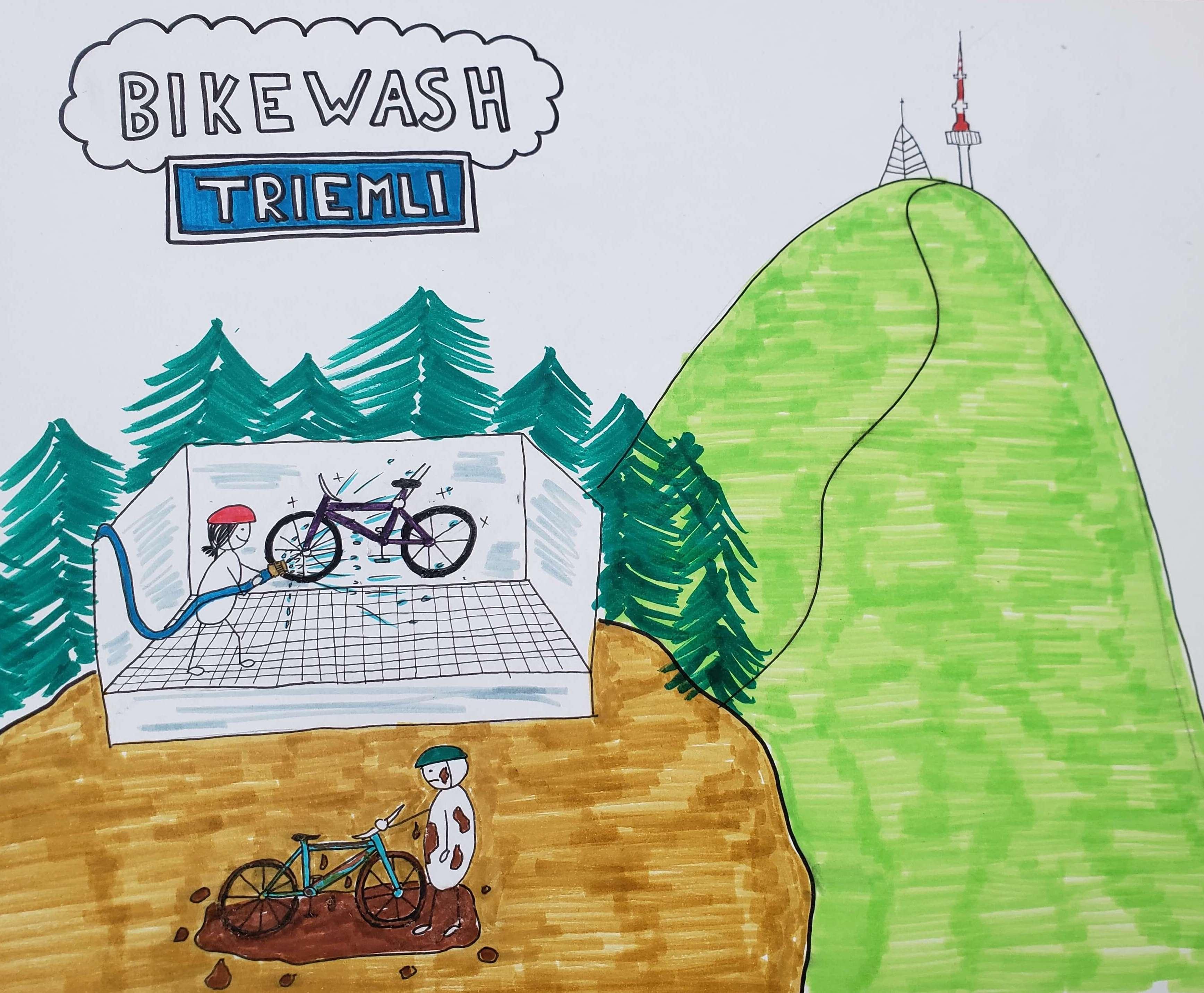 Bikewash Triemli