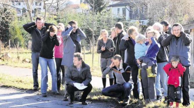 Lärmmessung zum Thema Mobilität in Zürich