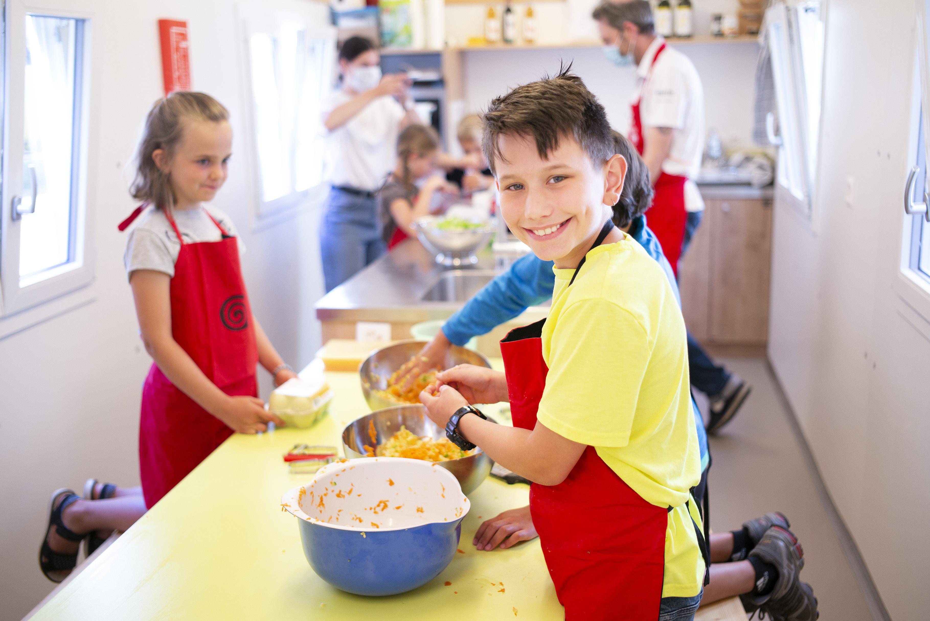 Mit Kindern nachhaltig kochen in Zürich West