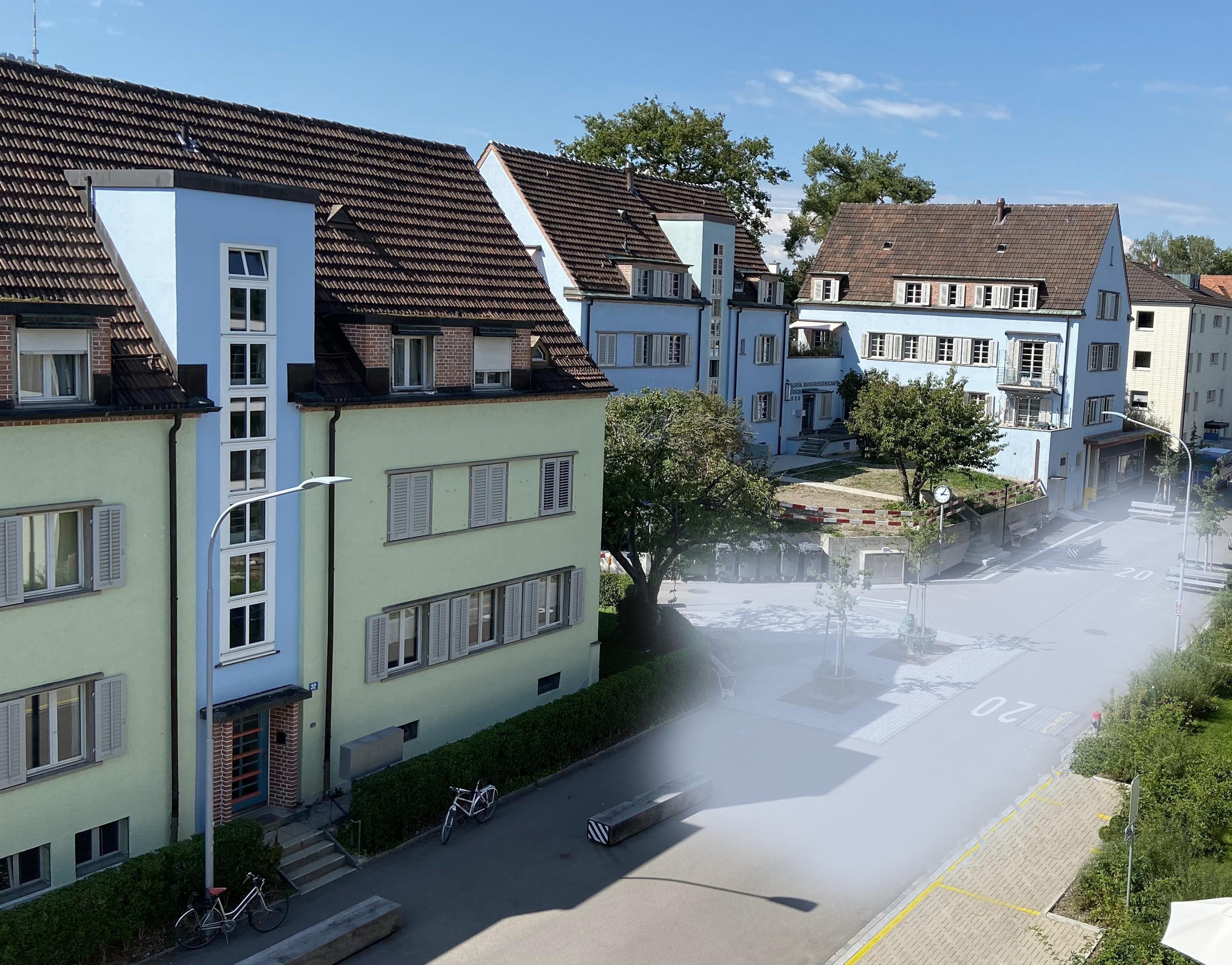 Dorfplatz Entlisberg