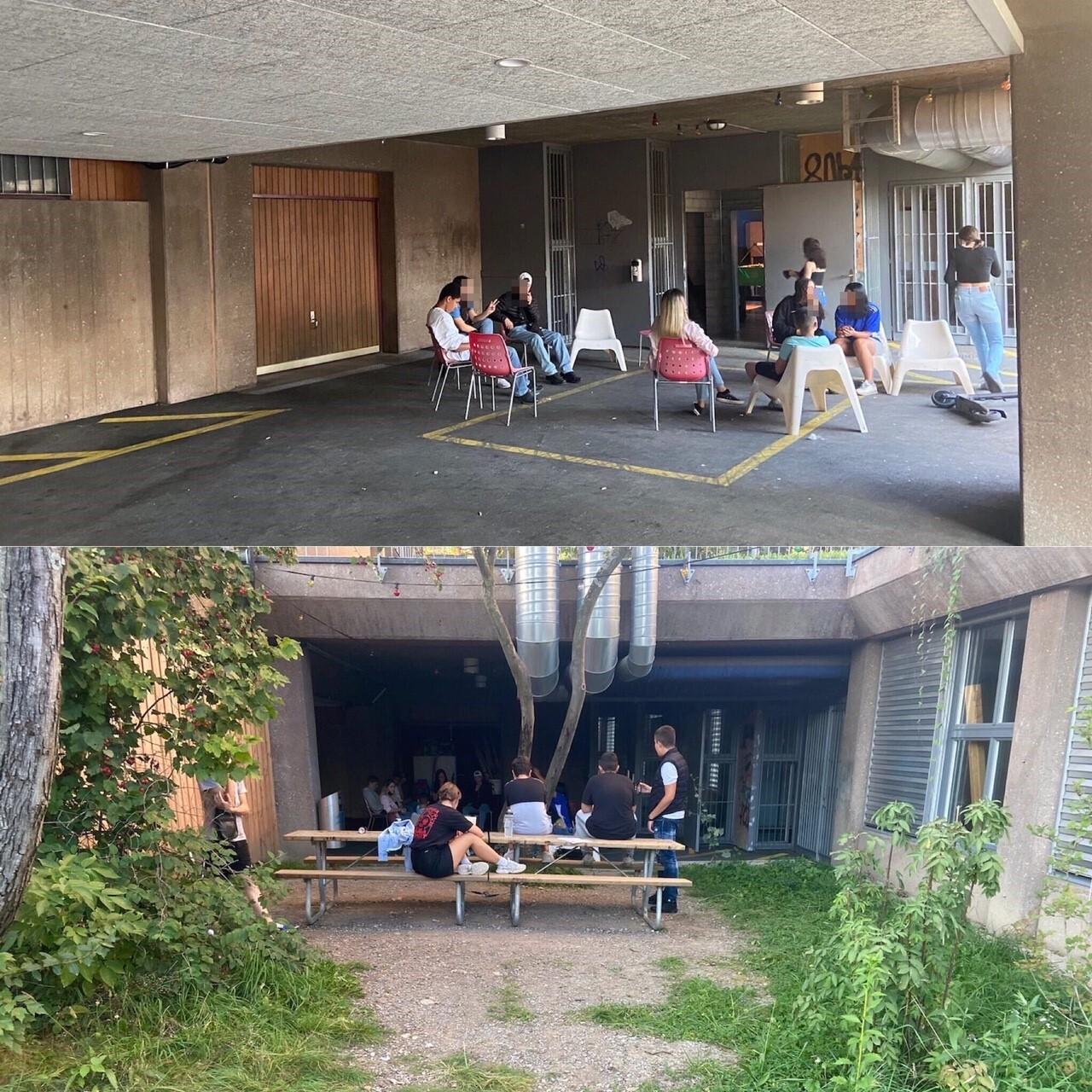 Neugestaltung Aussenraum vom Jugendtreff GZ Grünau
