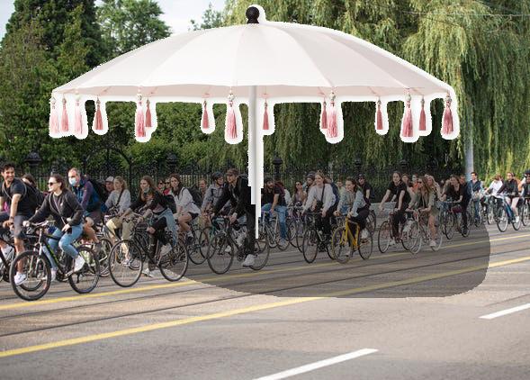 Mobiler Pavillon zum Ausleihen