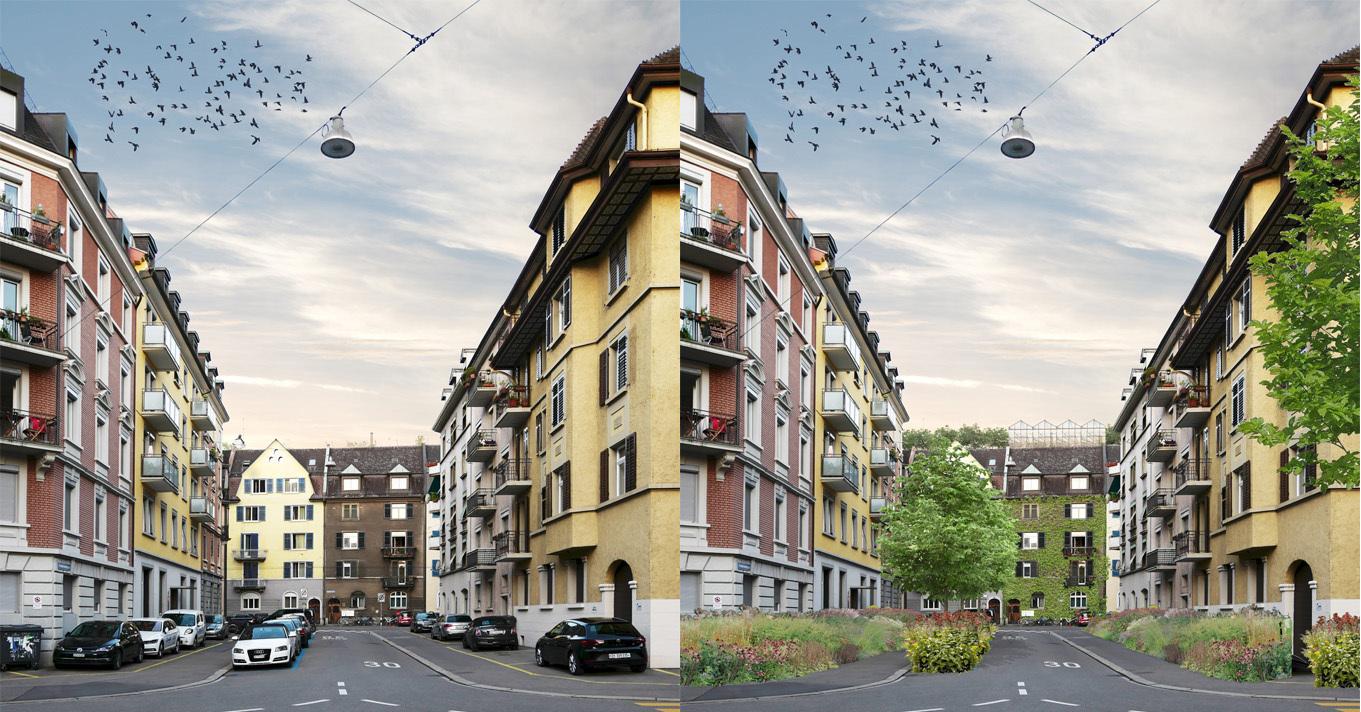 Aufheben der öffentlichen Parkplätze - Vision Verkehr 2050