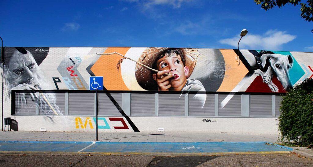 Kommerzielle Werbung durch Kunst und Bildung ersetzen