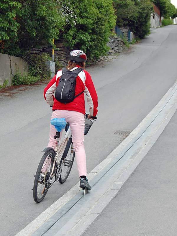 """Velo""""lifte"""" für steile Routen"""